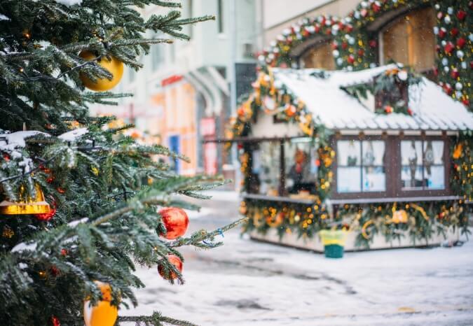 Spending Christmas in Europe