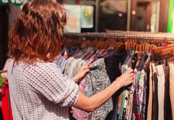 Vintage Clothing Shopping in Europe